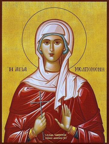 St. Melpomene the Martyr icon
