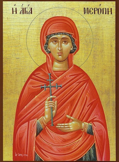 St. Merope the Martyr icon