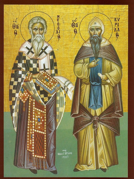 Ss. Cyril and Methodius, Equals to the Apostles icon