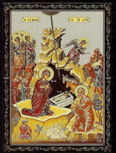 Nativity of our Lord Jesus Christ icon (SP)