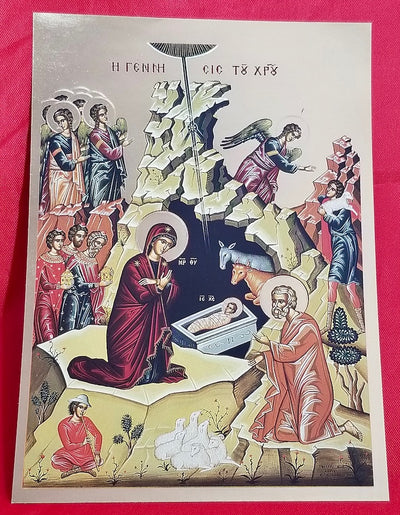 Nativity of our Lord icon (GF)