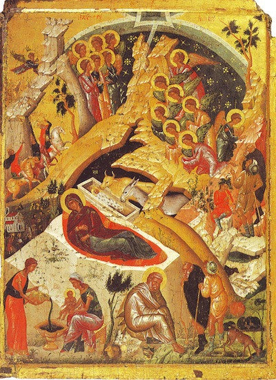 Nativity of our Lord Jesus Christ icon (4)