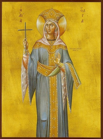 St. Olga the Princess of Kiev icon