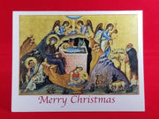 Folding Christmas Card  with Nativity (2)
