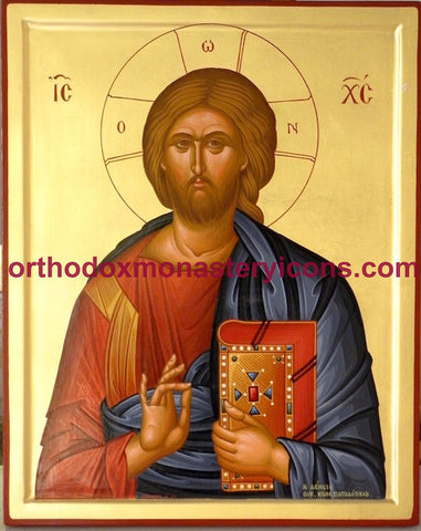 "Jesus Christ ""Pantocrator"" icon (25)"