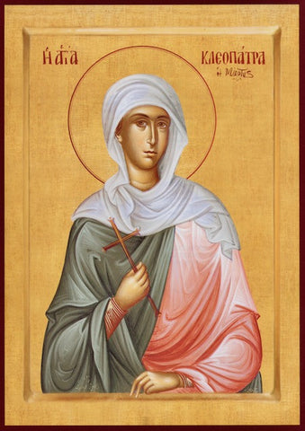 St. Cleopatra the Martyr icon