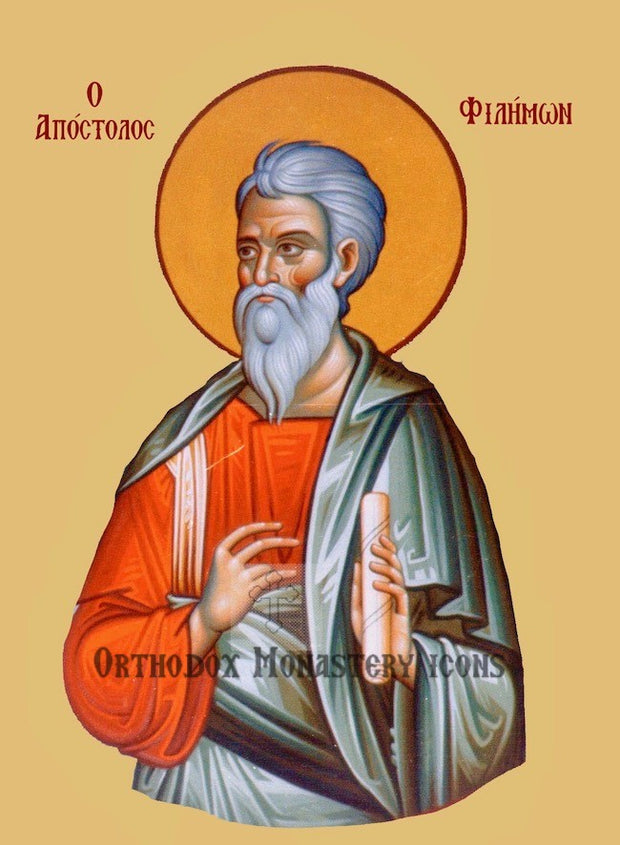 St. Philemon the Apostle icon