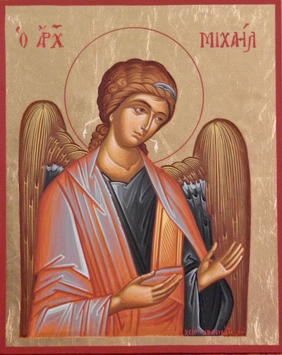 Archangels Gabriel and Michael Pair Icons