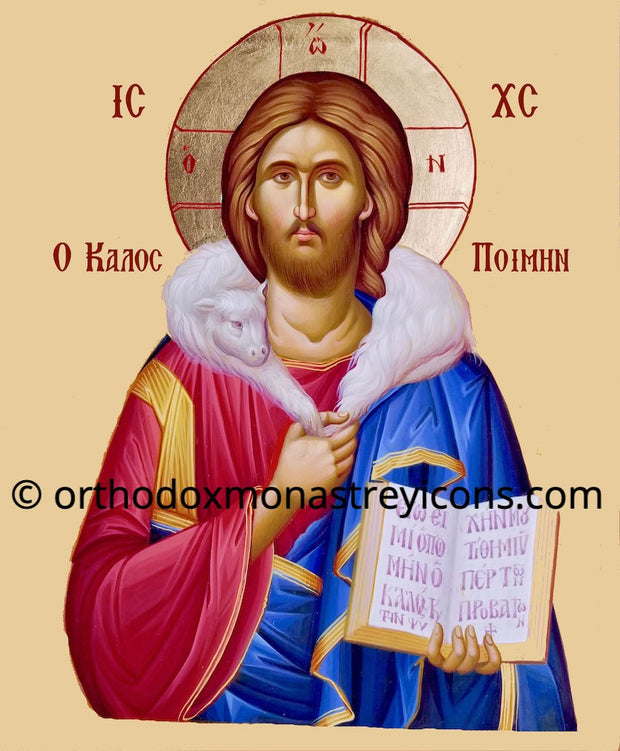 "Christ the ""Good Shepherd"" icon (2)"