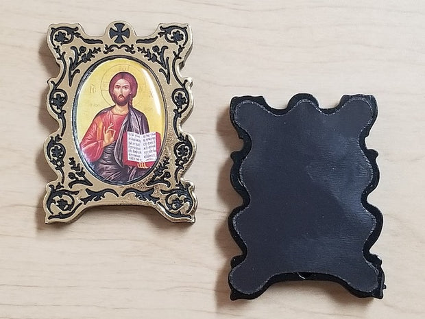 Magnetic icon of Christ