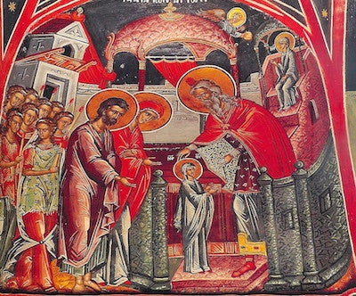 Entrance of Theotokos into the Temple icon(10).