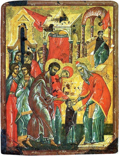 Entrance of Theotokos into the Temple icon (9).