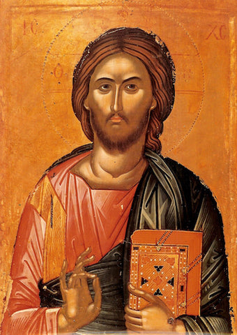 "Jesus Christ ""Pantocrator"" icon ( 1 )"
