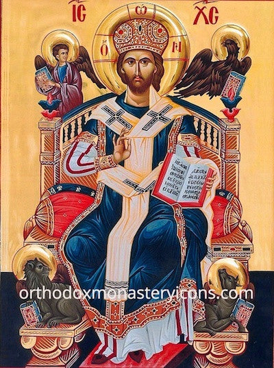 "Jesus Christ ""The Lord of Glory"" icon"