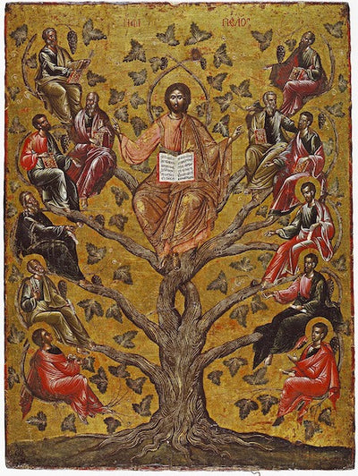 "Jesus Christ  ""The Vine"" icon (3)"