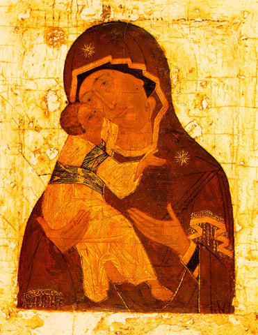 "Our Lady Theotokos of Vladimir ""Vladimirska"" icon (3)"