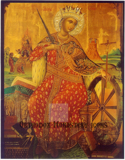 St. Catherine icon (2)