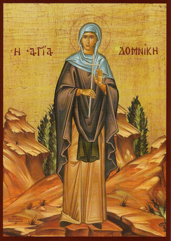 St. Domnica of Constantinople icon