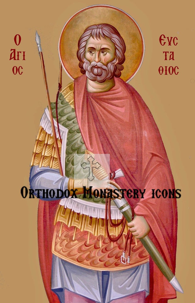St. Eustathius Placidas icon (2)