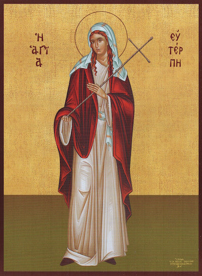 St. Euterpe the Martyr icon