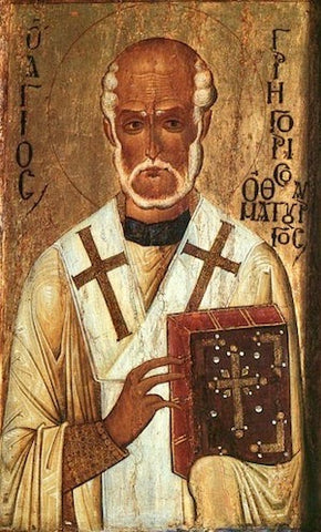 St. Gregory of Neocaesarea or the Wonderworker icon