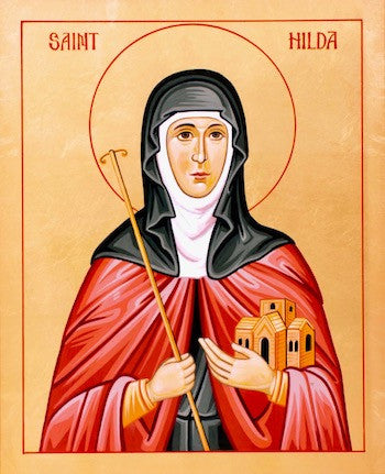 St. Hilda of Whitby icon