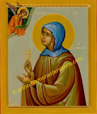 St.Ia of Cornwall icon