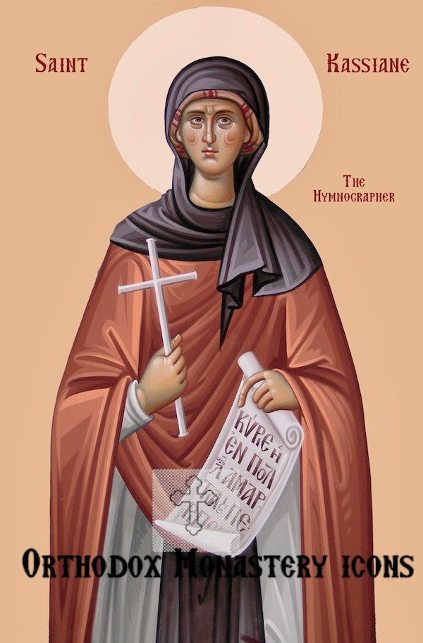 St. Kassiane the Hymnographer icon (2)