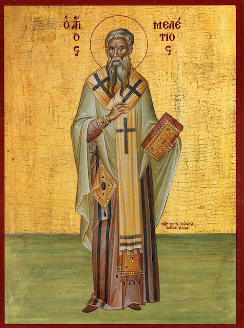 St. Meletius, Archbishop of Antioch icon