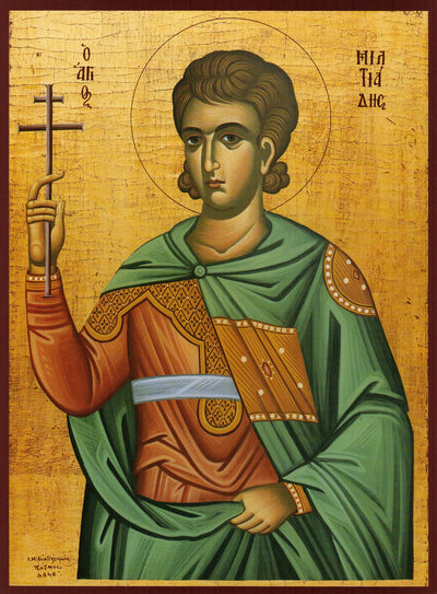St. Miltiades the Martyr icon