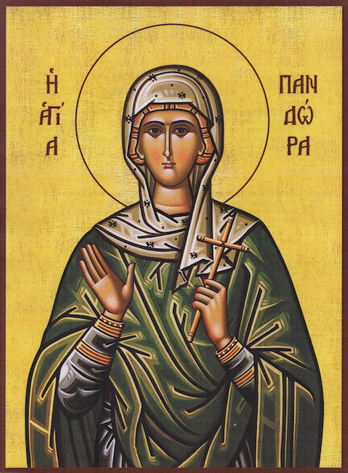 St. Pandora the Martyr icon