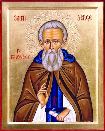 St. Sergius of Randonezh icon