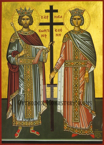 Ss. Constantine and Helen icon (3)