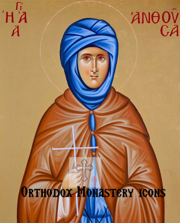 St. Anthousa icon