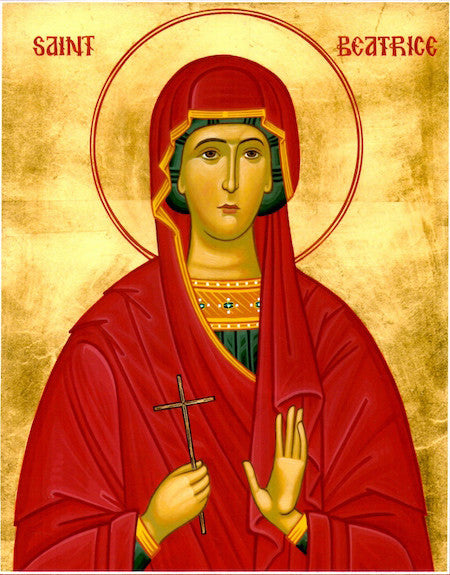 St. Beatrice the Martyr icon