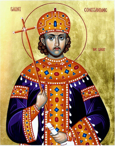 St. Constantine the Emperor icon (2)