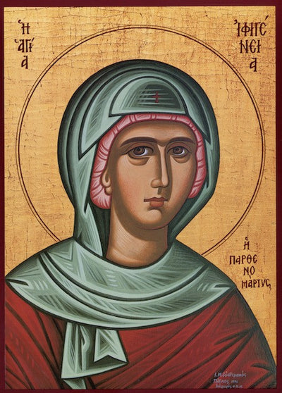 St. Ephigenia icon