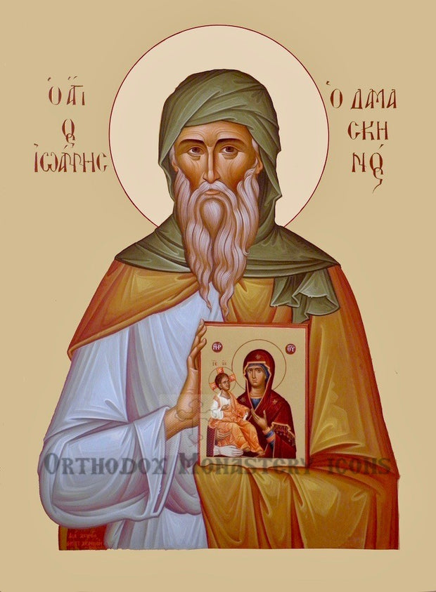St. John of Damascus icon