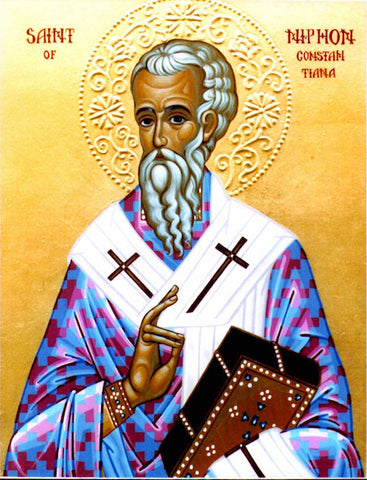 St. Niphon Bishop of Constantia icon