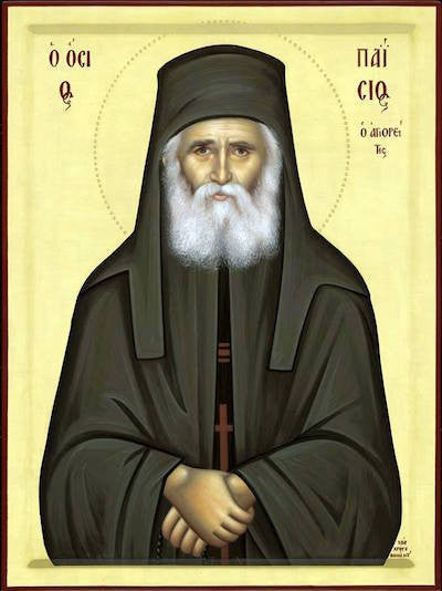 St. Paisios the Elder icon
