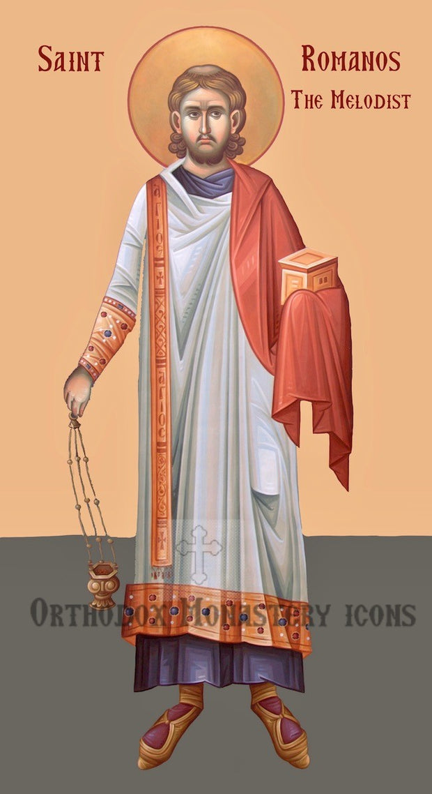 St. Romanos the Melodist icon