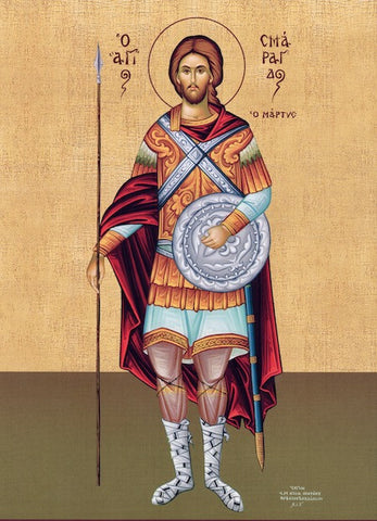 St. Smaragdos the Martyr icon