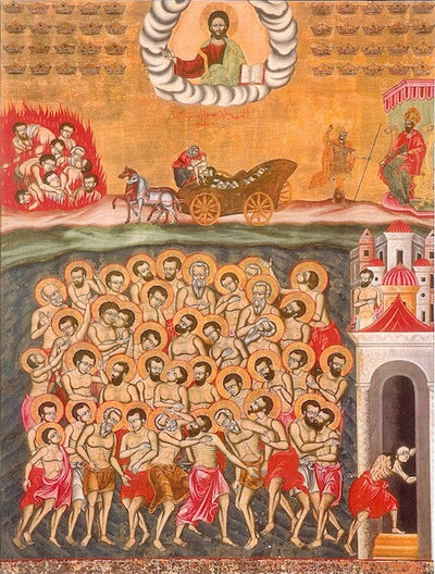 Forty Martys of Sebaste Lake icon (2)