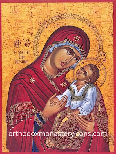"Theotokos ""The Mother of Love"" icon"