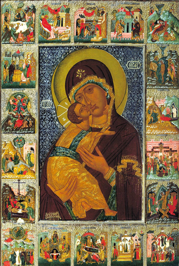 "Our Lady Theotokos of Vladimir ""Vladimirska"" icon (5)"