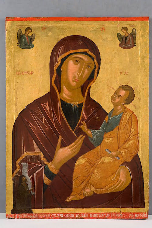 Jesus Christ and Most Holy Theotokos Pair Icons(P11)