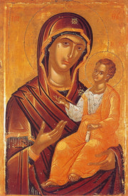 Jesus Christ and Most Holy Theotokos Pair Icons (P4)