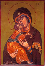 Jesus Christ and Most Holy Theotokos Pair Icons (P5)