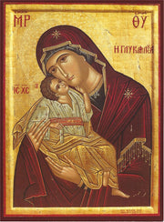 Jesus Christ and Most Holy Theotokos Pair Icons (P6)