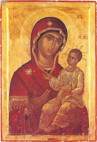 Jesus Christ and Most Holy Theotokos Pair Icons (P21)